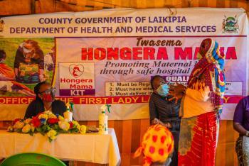 Hongera MAMA Kit Helping the Needy