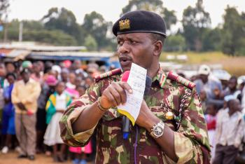 SECURITY MEETING IN LAIKIPIA WEST AND LAIKIPIA NORTH