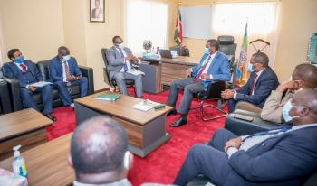 Governor Hosts National Officials of KNCCI