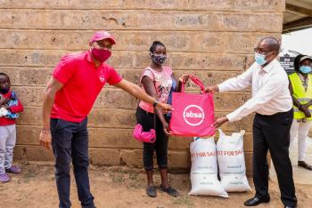 Two Hundred Residents of Likii Benefit with Food Packages