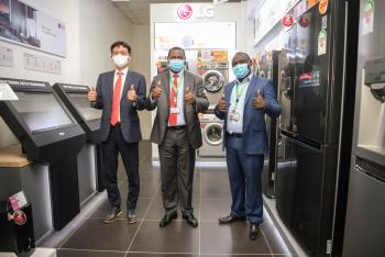 S.Korean Electronics Giant, LG, Opens Shop in Nanyuki